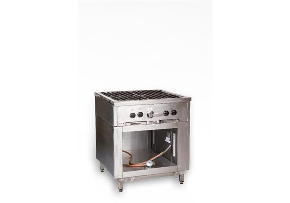 Kochherd Gas 4-flammig (ohne Gas)