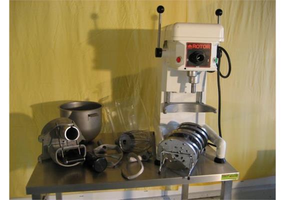 Universalmaschine Rotor inkl. allem Zubehör