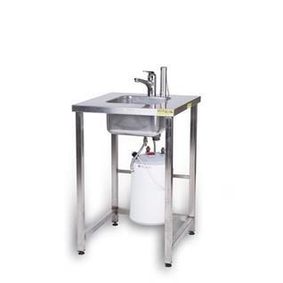 Handwaschgelegenheit mit 5-Lt. Boiler