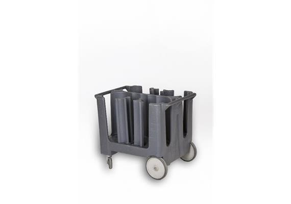 Tellerwagen Kunststoff