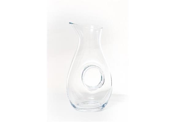 Wasser- Weinkaraffe 5dl edel mit Loch (Nr. 26)