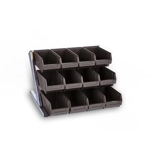 Besteckaufsatz mit 12 Besteckbehälter