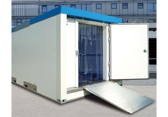 Kühl-/ Tiefkühlcontainermodul Kombi 2 Kammern
