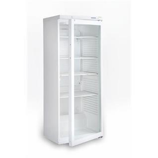 Kühlschrank Getränke weiss mit Glastür (alt)