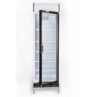 Kühlschrank mit Glastür 372 Liter mit Display