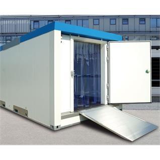 Kühl-/ Tiefkühlcontainermodul 1-er