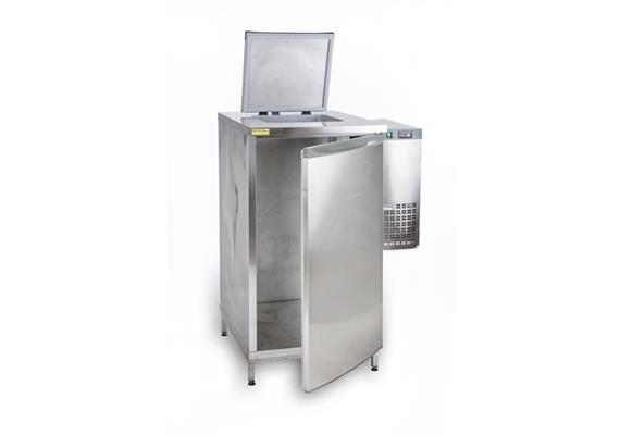 Kühler Speiseresten/Überproduktion 1 Container